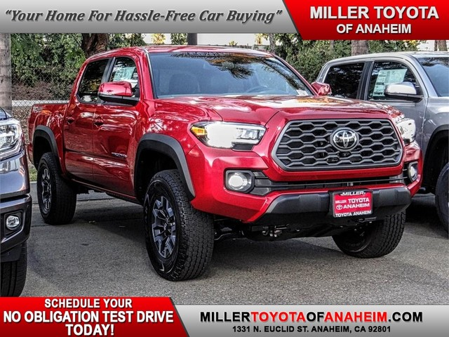 New 2020 Toyota Tacoma Trd Off Road Double Cab 5 Bed V6 At Natl Offsite Location