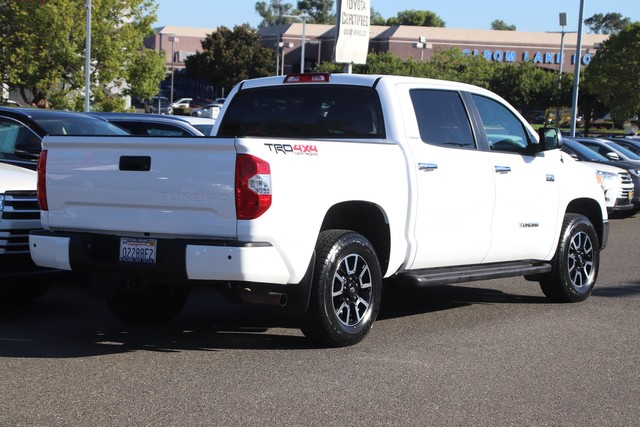 Certified Pre-Owned 2017 Toyota Tundra CrewMax Limited 4X4* TRD Off-Road, NEW TIRES, NEW BRAKES, ONE OWNER, NAVIGATION, HEATED LEATHER SEATS, MOONROOF, RUNNING BOARDS, BED LINER, TOYOTA FACTORY CERTIFIED