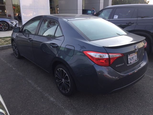 Certified Pre-Owned 2016 Toyota Corolla S Plus* NEW TIRES, ALLOY WHEELS, REAR SPOILER, FOG LIGHTS, ALLOY WHEELS, TOYOTA CERTIFIED FACTORY WARRANTY