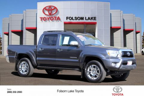 Certified Pre-Owned 2015 Toyota Tacoma Double Cab PreRunner* ONE OWNER, CRUISE CONTROL, BLUETOOTH PHONE TECH, TOYOTA FACTORY CERTIFIED