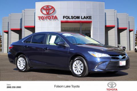Certified Pre-Owned 2017 Toyota Camry Hybrid LE* ONE OWNER, HANDS FREE PHONE, BACKUP CAMERA, TOYOTA FACTORY CERTIFIED Front Wheel Drive Sedan - In-Stock