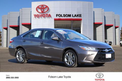 Certified Pre-Owned 2017 Toyota Camry SE* ONE OWNER, HANDS FREE PHONE, BACKUP CAMERA, TOYOTA FACTORY CERTIFIED Front Wheel Drive 4dr Car - In-Stock