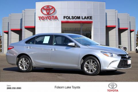 Certified Pre-Owned 2017 Toyota Camry SE* NEW TIRES, CRUISE CONTROL, HANDS FREE PHONE, TOYOTA FACTORY CERTIFIED Front Wheel Drive Sedan - In-Stock