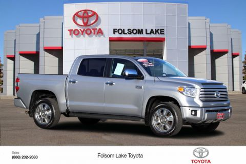 Certified Pre-Owned 2016 Toyota Tundra 4X4 CrewMax Platinum* NEW TIRES, ONE OWNER, NAVIGATION, TRD PERFORMANCE DUAL EXHAUST, HEATED LEATHER SEATS, MOONROOF, REMOTE START, BED LINERTOYOTA FACTORY CERTIFIED Four Wheel Drive Short Bed - In-Stock