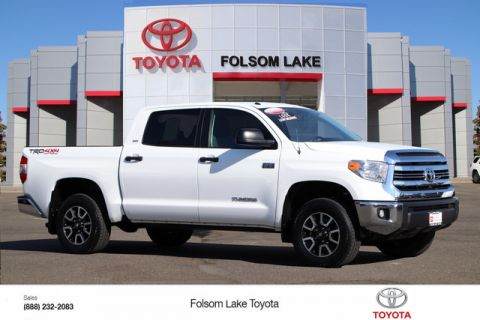 Certified Pre-Owned 2016 Toyota Tundra SR5 CrewMax 4X4* TRD Off-Road, NEW TIRES, NEW BRAKES, NAVIGATION, ONE OWNER, HANDS FREE PHONE, TOYOTA FACTORY CERTIFIED Four Wheel Drive Short Bed - In-Stock
