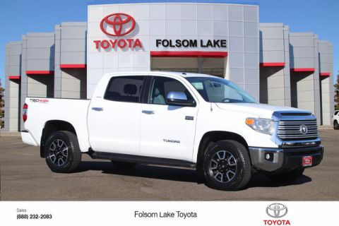 Certified Pre-Owned 2017 Toyota Tundra CrewMax Limited 4X4* TRD Off-Road, NEW TIRES, NEW BRAKES, ONE OWNER, NAVIGATION, HEATED LEATHER SEATS, MOONROOF, RUNNING BOARDS, BED LINER, TOYOTA FACTORY CERTIFIED Four Wheel Drive Short Bed - In-Stock