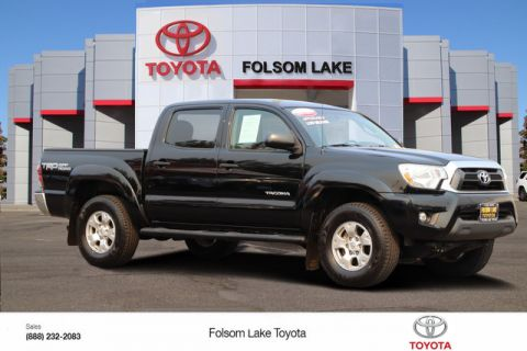 Certified Pre-Owned 2015 Toyota Tacoma TRD OFF ROAD Double Cab 4X4* ONE OWNER, BLUETOOTH PHONE TECH, TOYOTA FACTORY CERTIFIED Four Wheel Drive Pickup Truck - In-Stock