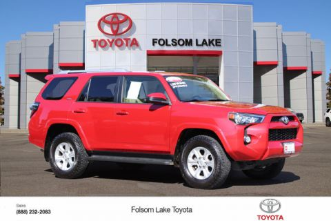 Certified Pre-Owned 2016 Toyota 4Runner SR5 4X4* ONE OWNER, NAVIGATION, THIRD ROW SEAT, RUNNING BOARDS Four Wheel Drive SUV - In-Stock