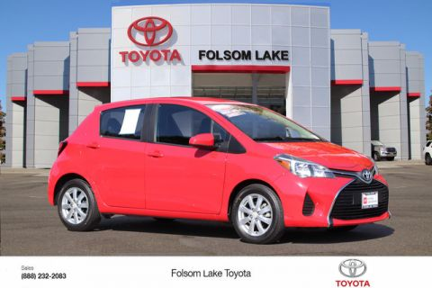 Certified Pre-Owned 2016 Toyota Yaris LE* ONE OWNER, HANDS FREE PHONE, TOYOTA FACTORY CERTIFIED Front Wheel Drive Hatchback - In-Stock
